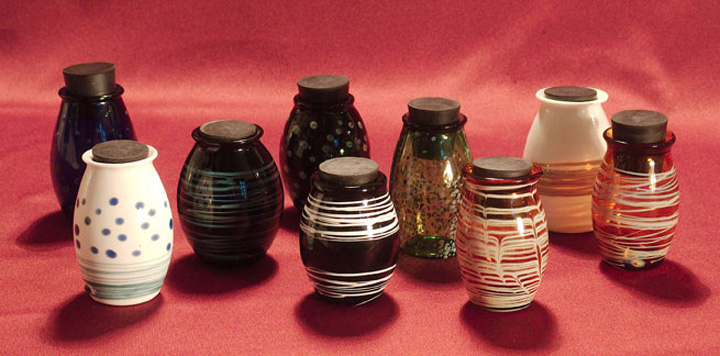 Glass Keepsake Urns